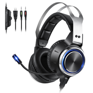 K15 Gaming Headset with Led Light for PC